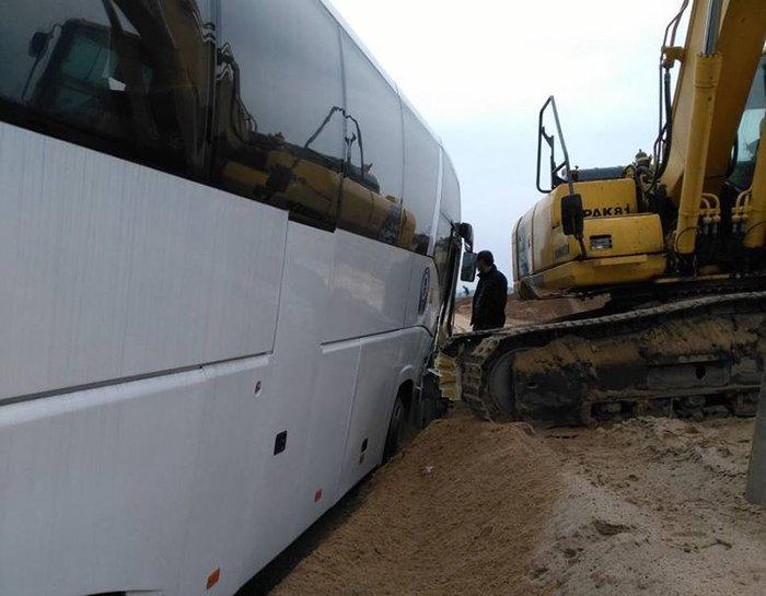 """Автобус """"Лодзь-Гродно"""" попал в аварию на польской трассе: погибли три человека, фото-3"""