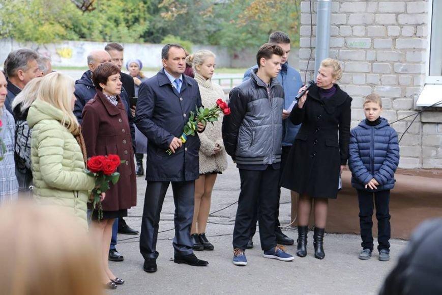 В Кременчуге открыли еще две мемориальные доски: военному и литератору, фото-3