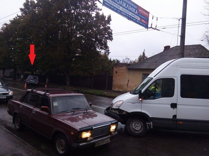 В Сумах произошло очередное ДТП (ФОТО), фото-2