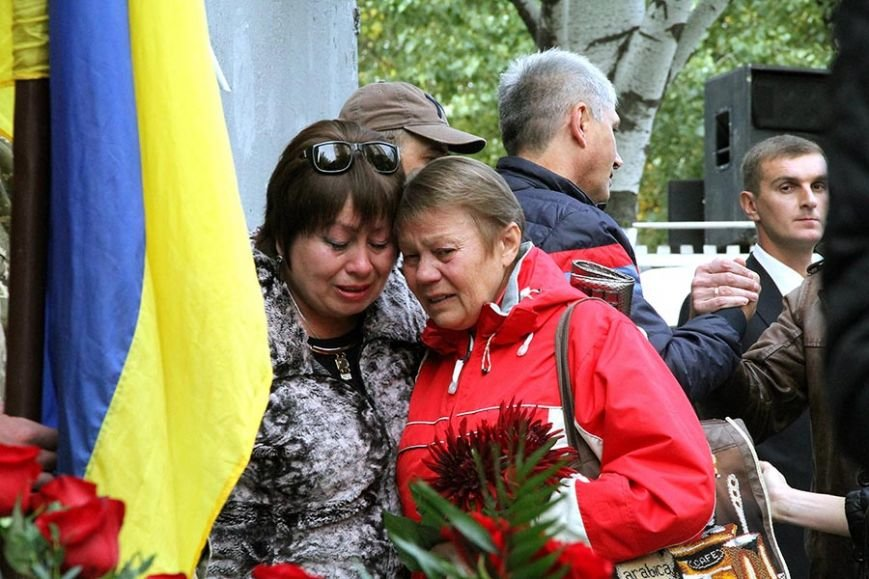 В Запорожье открыли мемориальный знак погибшему в АТО артиллеристу, - ФОТО, фото-2