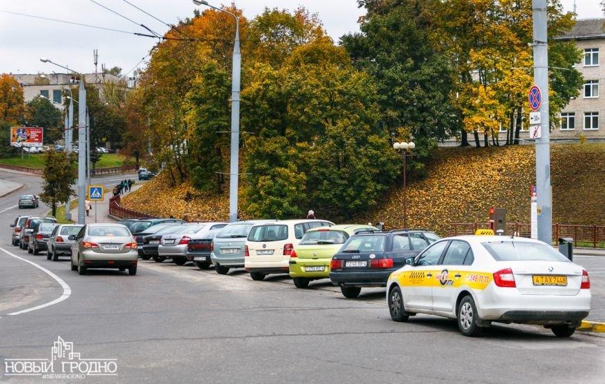 Возле платной парковки на Виленской запретили ставить машину всем, кроме инвалидов, фото-5