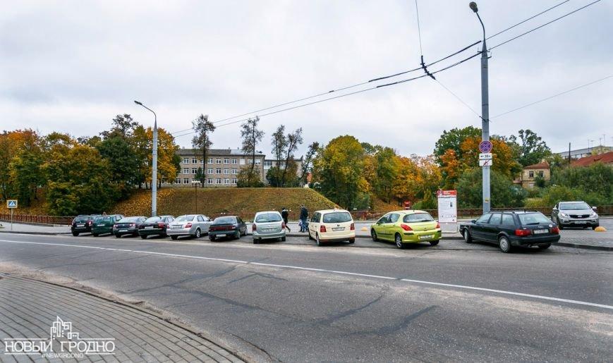 Возле платной парковки на Виленской запретили ставить машину всем, кроме инвалидов, фото-4