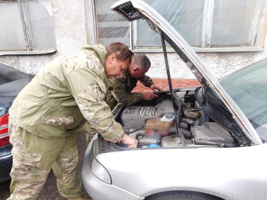 Авто для АТО: сумское Управление исполнительной службы предало батальону «Азов» 6 машин, фото-5