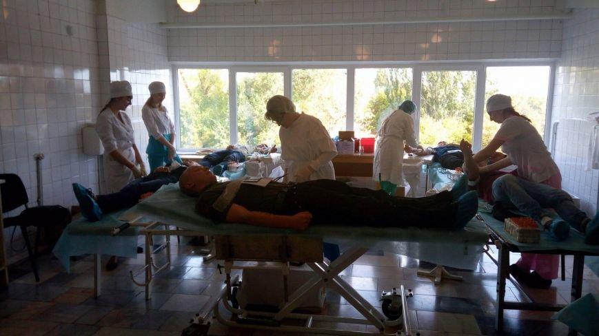 Сергей Рыженко: в Мечникова закончились наборы для сдачи крови (ФОТО), фото-11