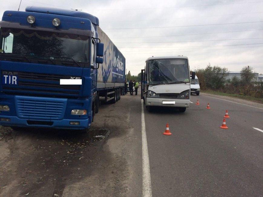 ДТП в Кременчуге: автобус столкнулся с фурой. Есть пострадавшие (ФОТО), фото-4