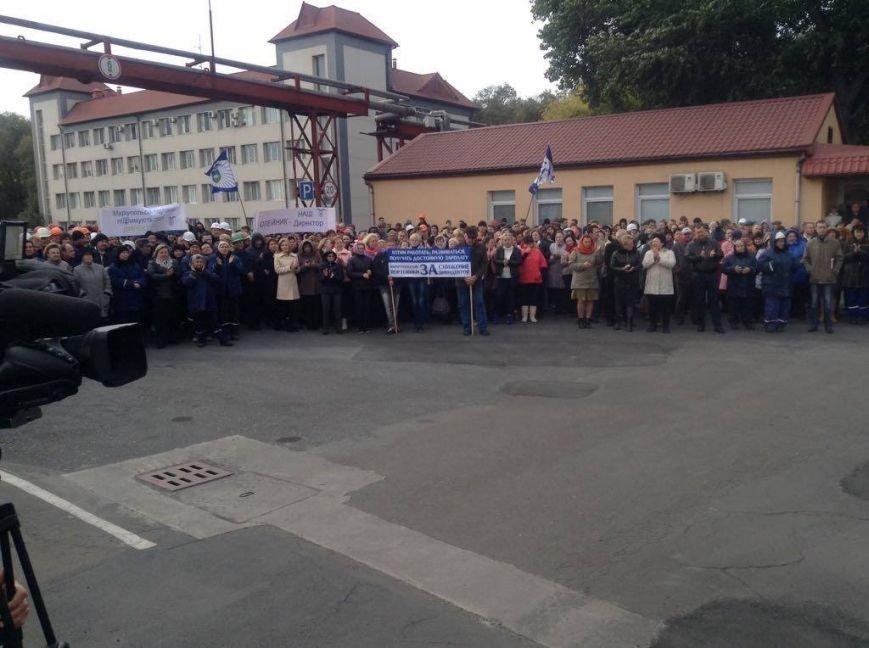Мариупольские портовики выступили за понижение дивидендов и поддержали действующего директора(ФОТО, ВИДЕО), фото-1
