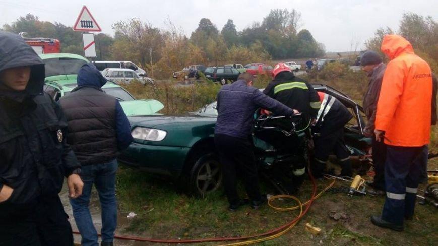 Наавтодорозі «Львів— Рава-Руська» загинула водій
