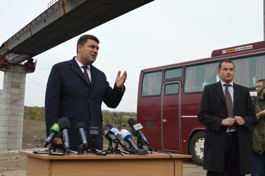 Что говорил Гройсман о запорожских мостах, - ФОТО, ВИДЕО, фото-12