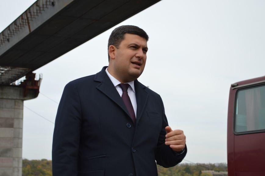 Что говорил Гройсман о запорожских мостах, - ФОТО, ВИДЕО, фото-13