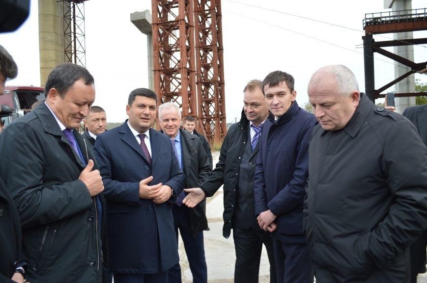 Что говорил Гройсман о запорожских мостах, - ФОТО, ВИДЕО, фото-14