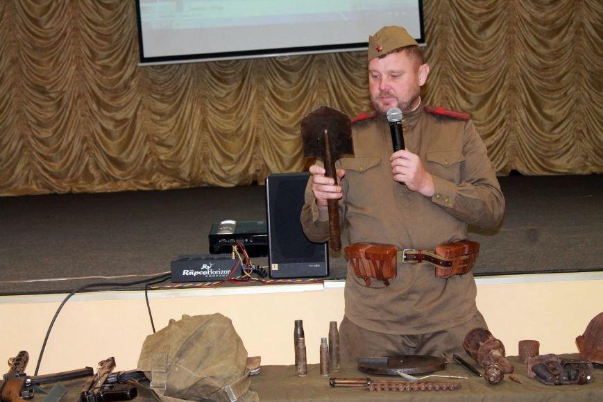 Сахалинские поисковики провели встречу со школьниками, фото-9