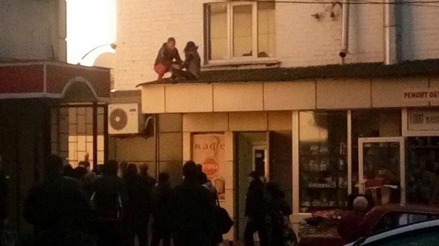В Харькове, из-за ссоры с родителями, девушка выбросилась из окна (ФОТО), фото-1