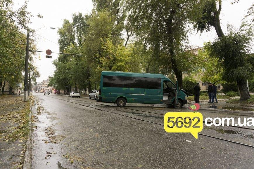 В Каменском в ДТП на улице Спортивной микроавтобус Volkswagen врезался в дерево, фото-5