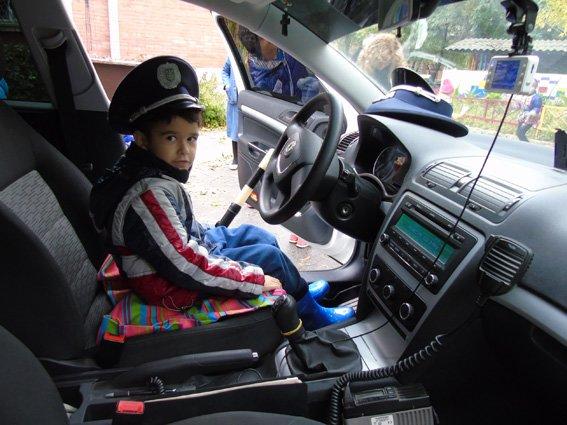 Херсонская полиция учит детей основам ПДД, фото-3