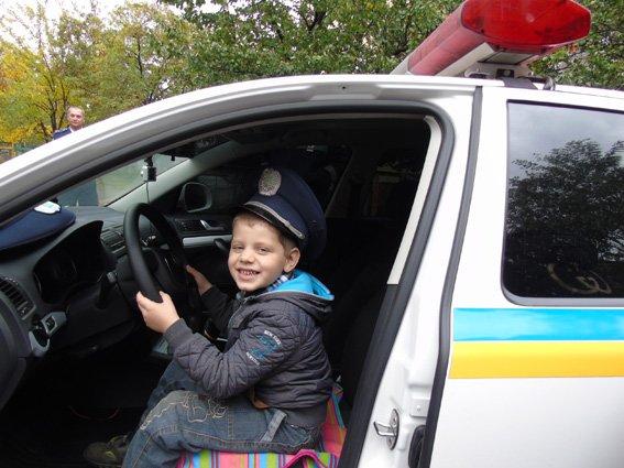 Херсонская полиция учит детей основам ПДД, фото-5