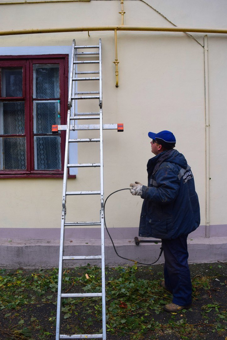 Последствия стихийного бедствия в одном из домов Черноморска (фото), фото-1