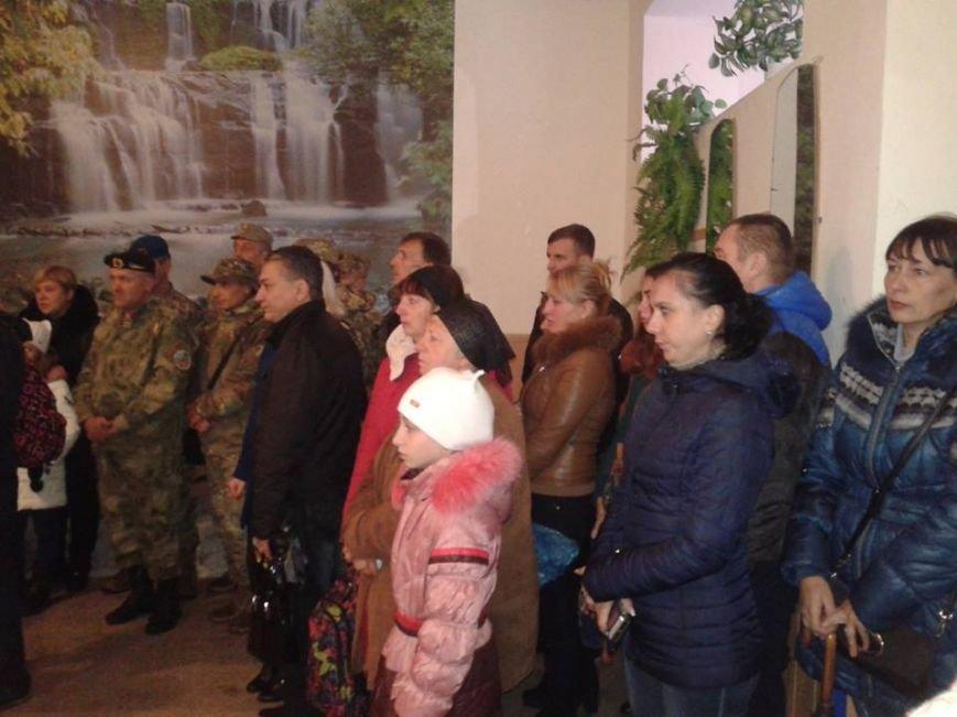 Под Кремечнчугом, в Песчаном открыли три памятных доски, посвященных погибшим в АТО военным, фото-7