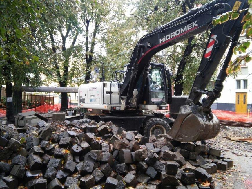 Як сьогодні тривають ремонтні роботи на вулиці Київській (ФОТО), фото-5
