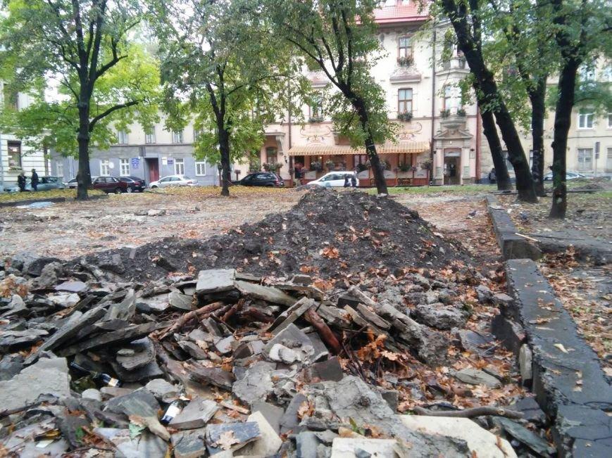 На площі Маланюка завершити ремонт планують до середини листопада (ФОТО), фото-6