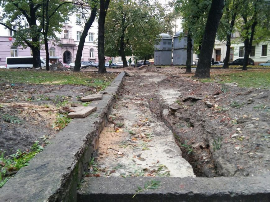 На площі Маланюка завершити ремонт планують до середини листопада (ФОТО), фото-1