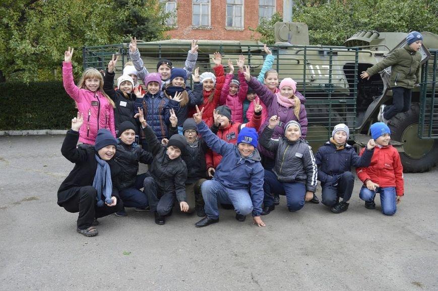 Кременчугские школьники побывали на тренировочной базе СБУ, фото-6