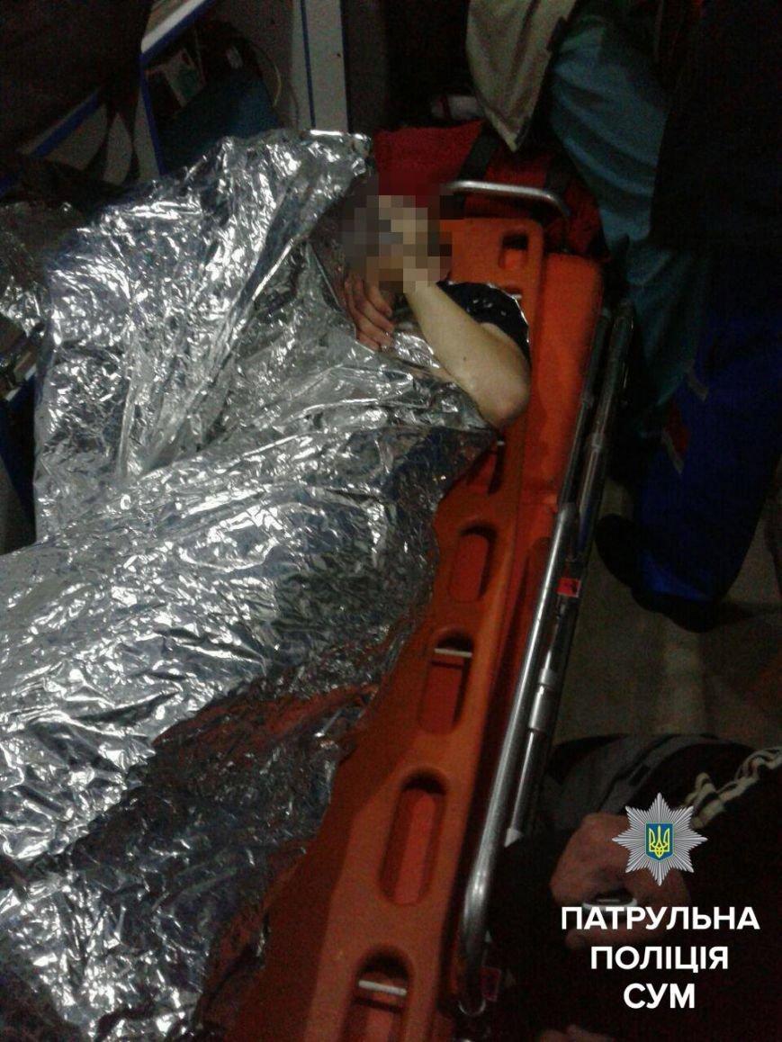 Сумской патрульный прыгнул в холодную воду и спас подростка, который едва не утонул (ФОТО+ВИДЕО), фото-3