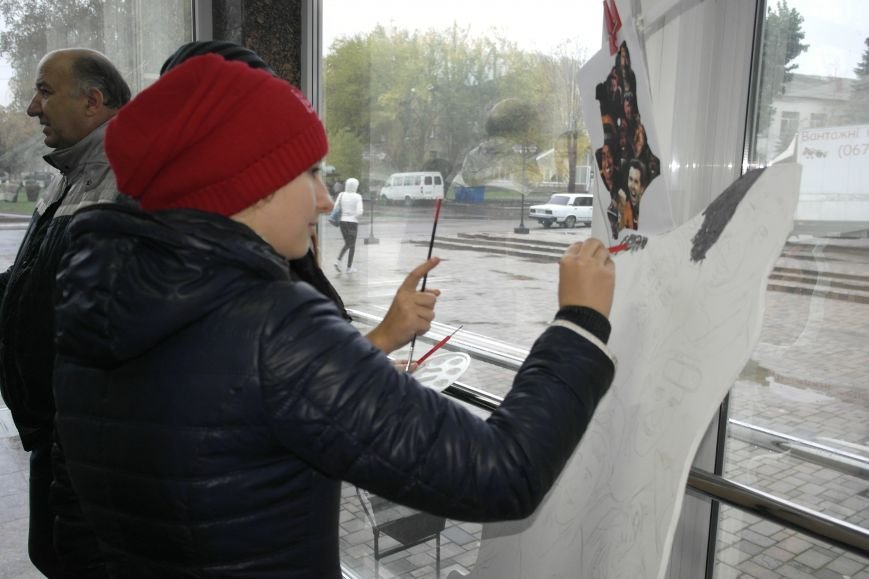 В Покровске (Красноармейске) стартовала всеукраинская акция «За мир і щастя в Україні», фото-4