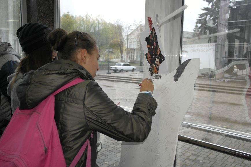 В Покровске (Красноармейске) стартовала всеукраинская акция «За мир і щастя в Україні», фото-6