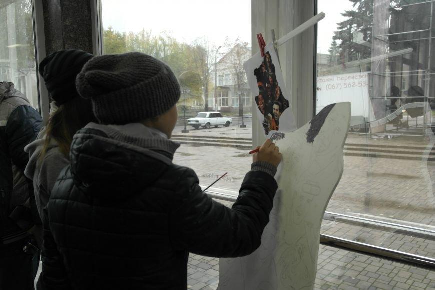 В Покровске (Красноармейске) стартовала всеукраинская акция «За мир і щастя в Україні», фото-8