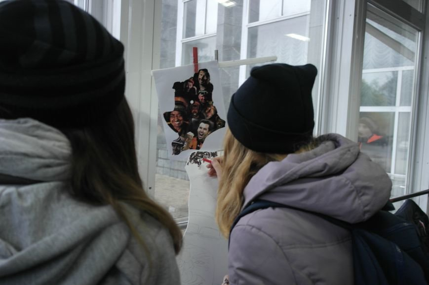 В Покровске (Красноармейске) стартовала всеукраинская акция «За мир і щастя в Україні», фото-11