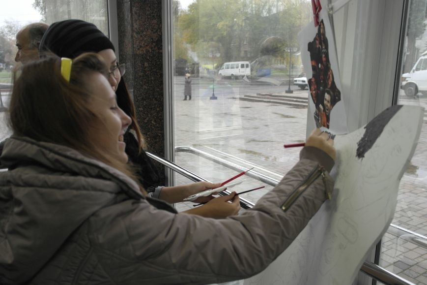 В Покровске (Красноармейске) стартовала всеукраинская акция «За мир і щастя в Україні», фото-10