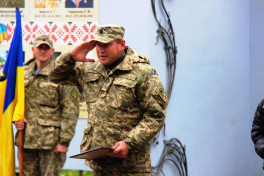 В Херсоне поздравили защитников Украины и почтили память павших Героев, фото-3