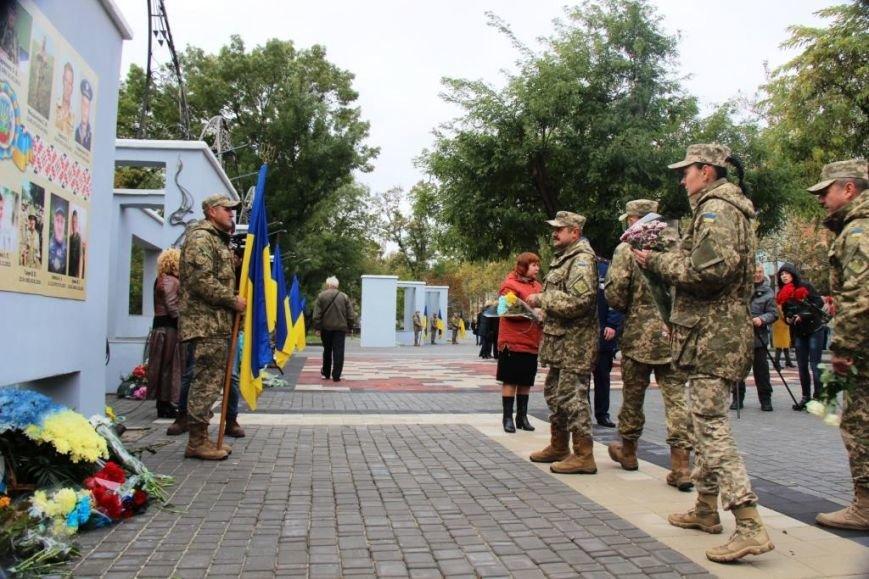 В Херсоне поздравили защитников Украины и почтили память павших Героев, фото-4