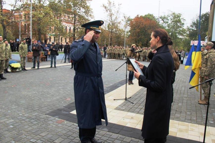 В Херсоне поздравили защитников Украины и почтили память павших Героев, фото-2