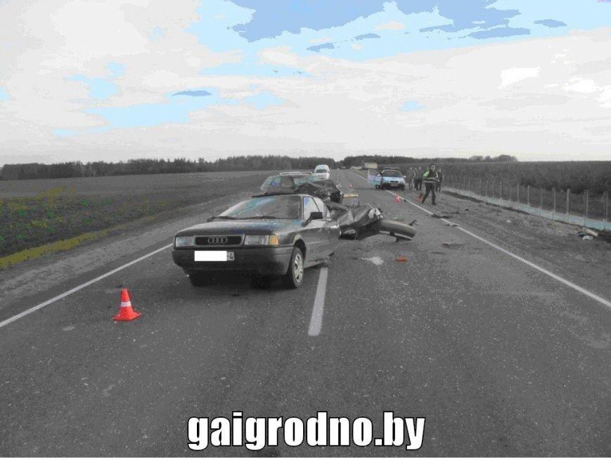 Лобовая авария под Волковыском: Ауди разорвало на части после столкновения с Альфа Ромео, фото-3