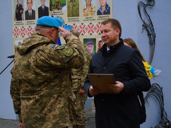 Полиция Херсонщины приняла участие в торжествах ко Дню защитников Украины (фото), фото-3