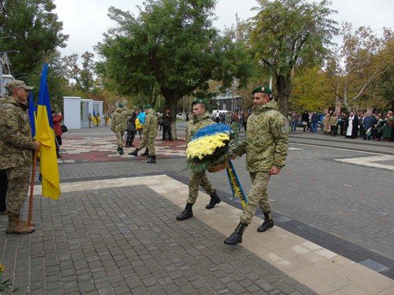 Полиция Херсонщины приняла участие в торжествах ко Дню защитников Украины (фото), фото-5