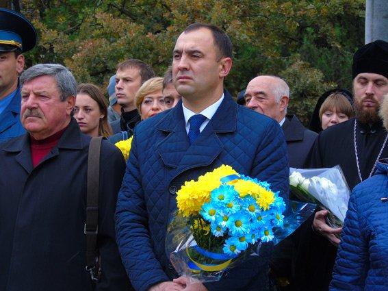 Полиция Херсонщины приняла участие в торжествах ко Дню защитников Украины (фото), фото-4