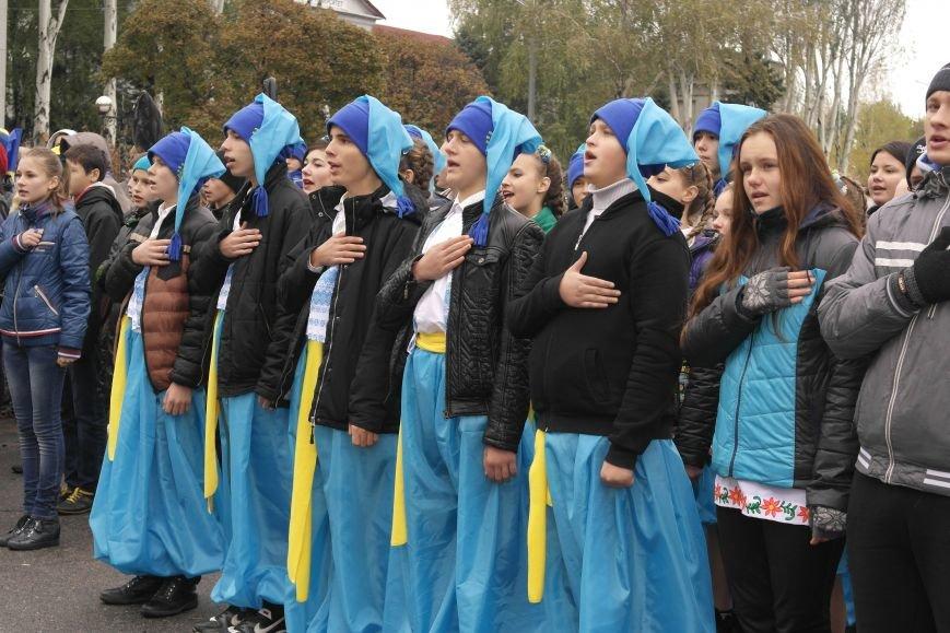 Школьники Покровска (Красноармейска) показали «класс» на конкурсе маршевой песни, фото-7