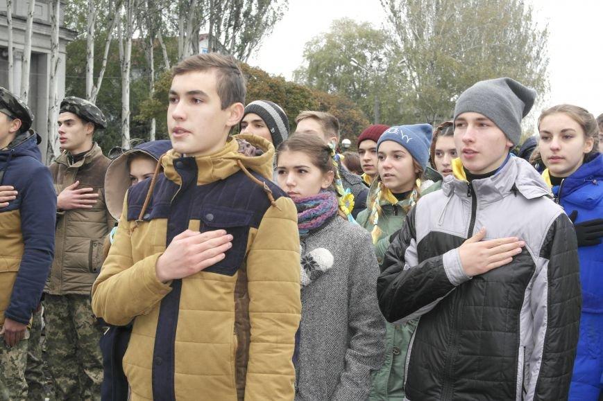 Школьники Покровска (Красноармейска) показали «класс» на конкурсе маршевой песни, фото-9