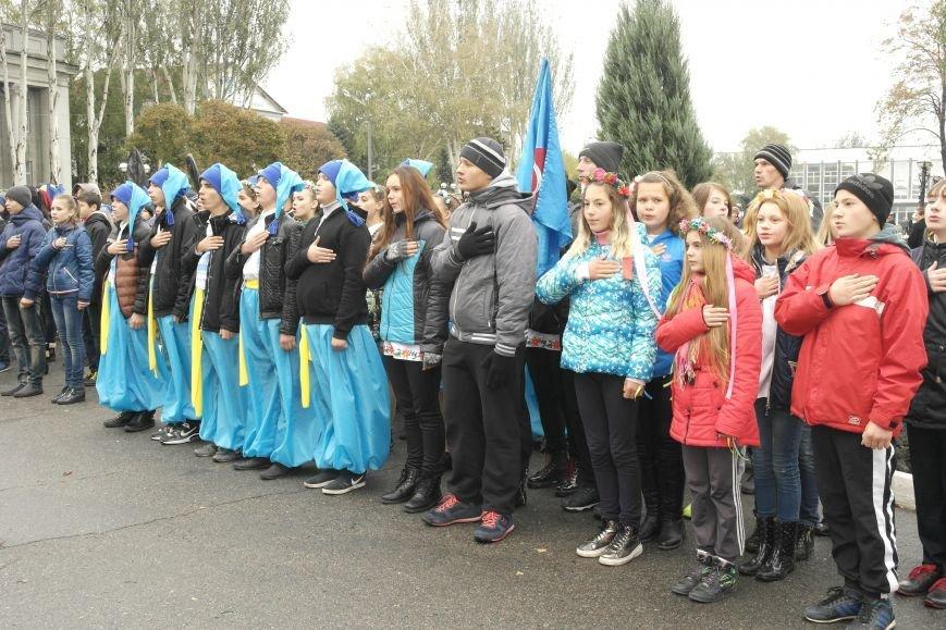 Школьники Покровска (Красноармейска) показали «класс» на конкурсе маршевой песни, фото-6