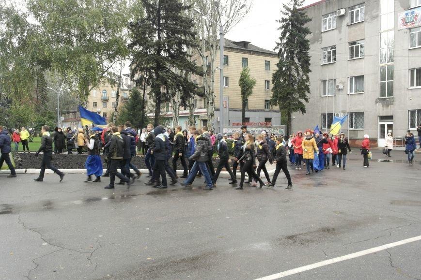 Школьники Покровска (Красноармейска) показали «класс» на конкурсе маршевой песни, фото-2