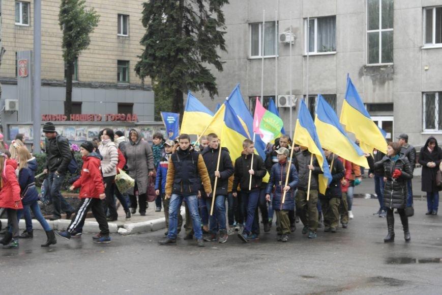 Школьники Покровска (Красноармейска) показали «класс» на конкурсе маршевой песни, фото-4
