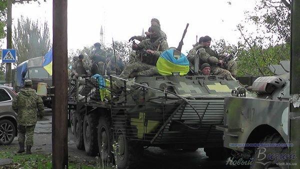 Легендарный 34 батальон вернулся из зоны АТО в Генический район (фото, видео), фото-1
