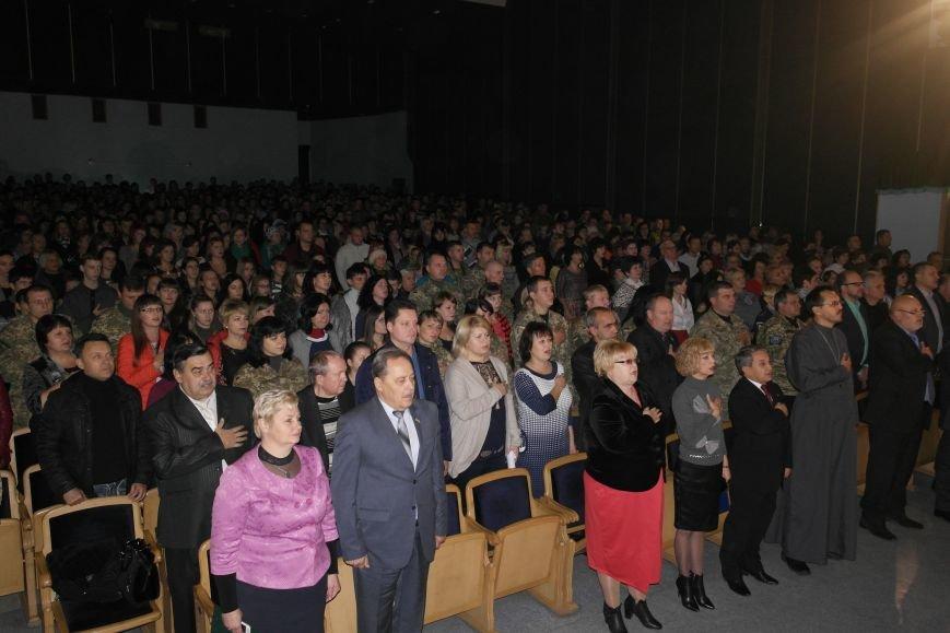 «Слава воїнам АТО»: в Покровске (Красноармейске) поздравили военнослужащих, фото-9