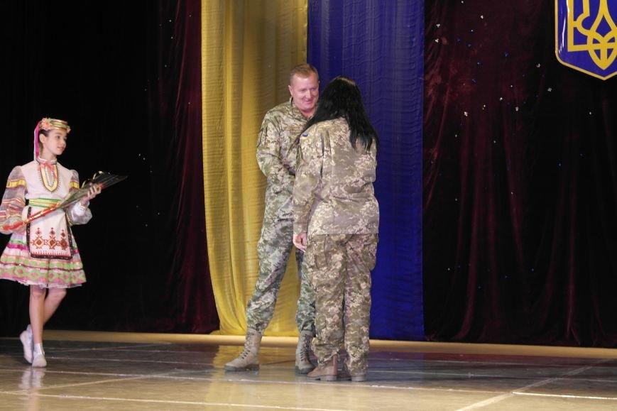 «Слава воїнам АТО»: в Покровске (Красноармейске) поздравили военнослужащих, фото-6
