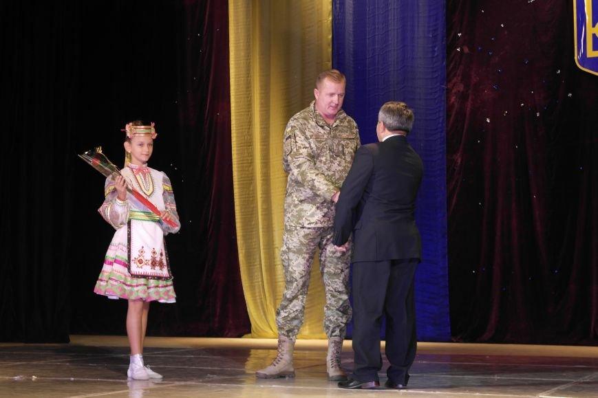 «Слава воїнам АТО»: в Покровске (Красноармейске) поздравили военнослужащих, фото-3