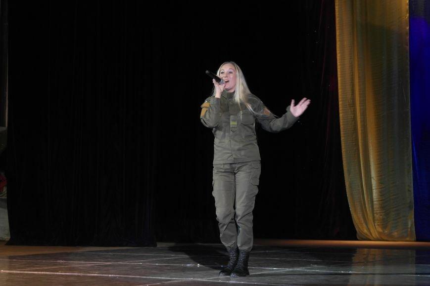 «Слава воїнам АТО»: в Покровске (Красноармейске) поздравили военнослужащих, фото-16