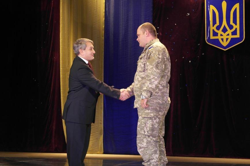 «Слава воїнам АТО»: в Покровске (Красноармейске) поздравили военнослужащих, фото-28