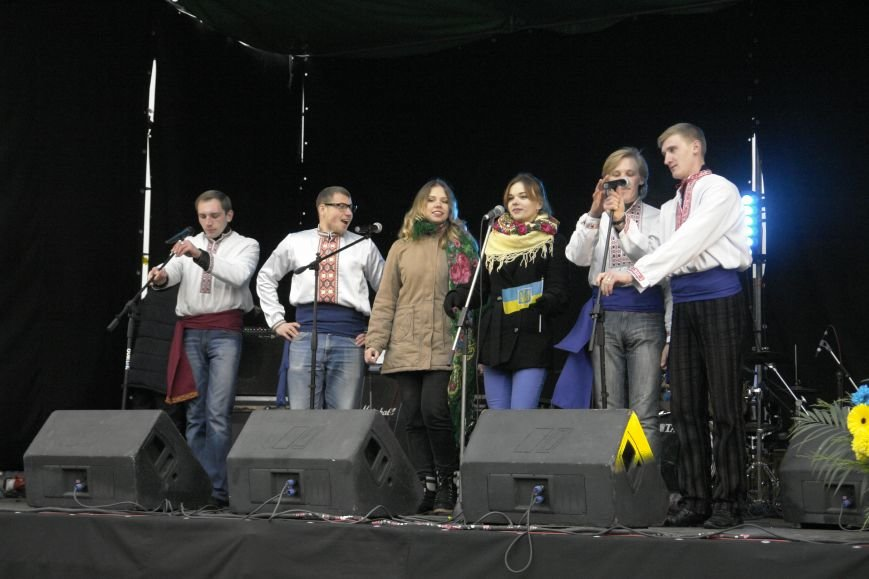 В Покровске (Красноармейске) выступили самодеятельные коллективы, фото-1